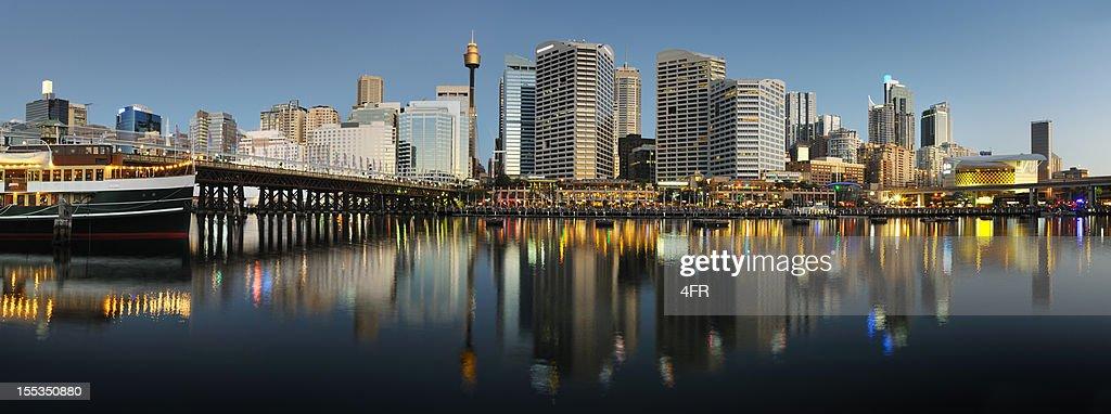 Darling Harbour, Sydney, Australia (XXXL) : Stock Photo