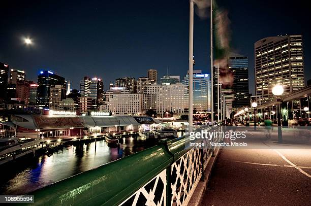 Darling Harbour, Sydney by night