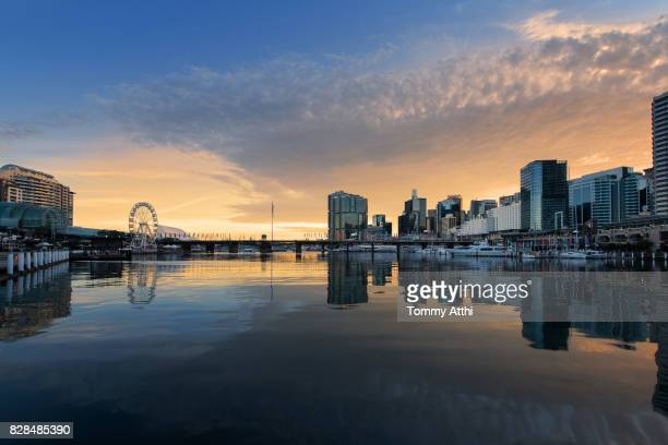 darling harbour, sydney - darling harbour stock pictures, royalty-free photos & images