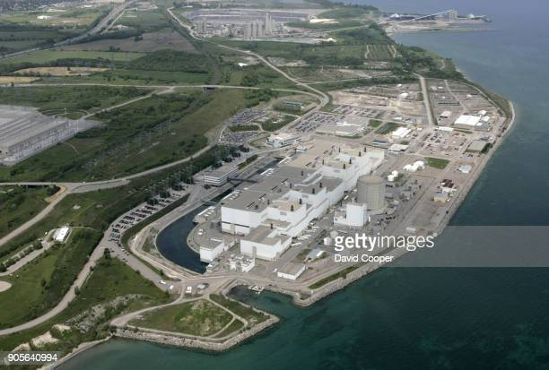 Darlington is the latest in a string of Ontario nuclear plant refurbishments to miss initial budget targets Aerials of Darlington Nuclear Plants It...