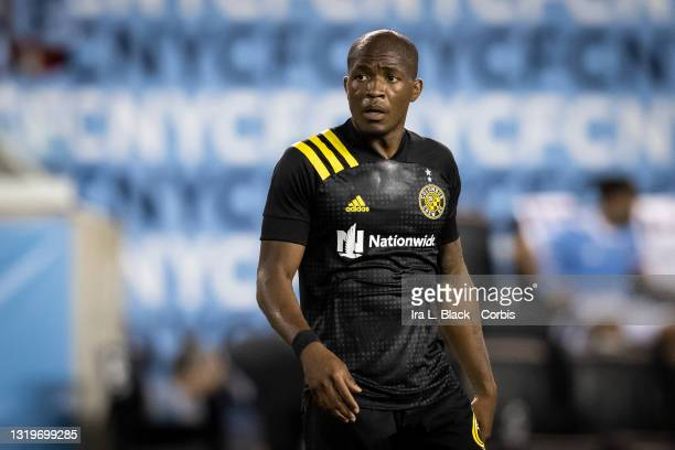 Darlington Nagbe of Columbus Crew during the 2nd half of the match against New York City FC at Red Bull Arena on May 22, 2021 in New York City.