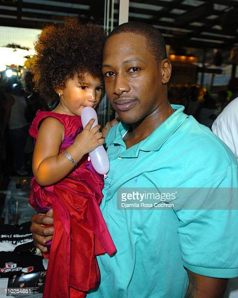Darly Murray and Keith Murray during TBoz Life Style Weekly Make A Wish Foundation Present Chase's Closet Launch at The Park in New York City New...