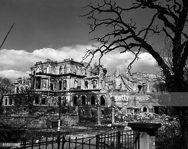 Darmstadt Germany's worst air raid occured September 12 1944 Among the buildings that were badly burned and bombed out was the Gestapo Building April...