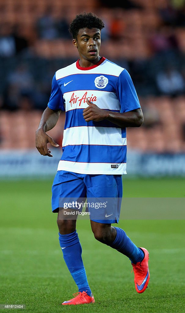 Darnell Furlong of QPR looks on during the pre season friendly match between Queens Park Rangers and Dundee United at The Hive on July 22, 2015 in Barnet, England.