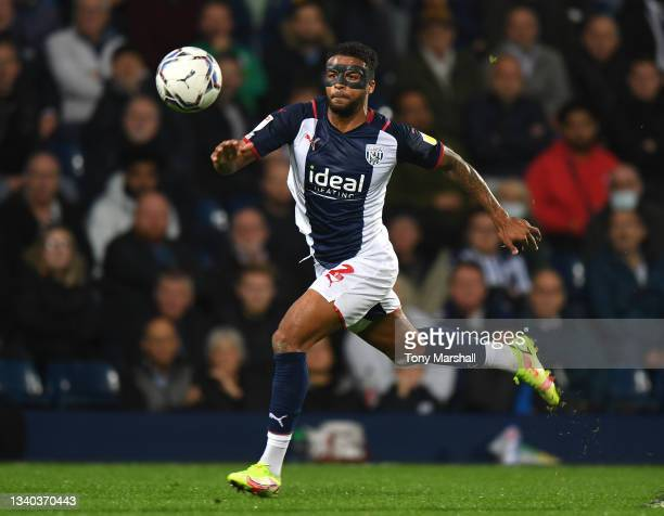 Darnell Furlong of West Bromwich Albion during the Sky Bet Championship match between West Bromwich Albion and Derby County at The Hawthorns on...