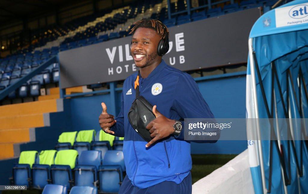 Bury v Leicester City U21: Checkatrade Trophy : News Photo