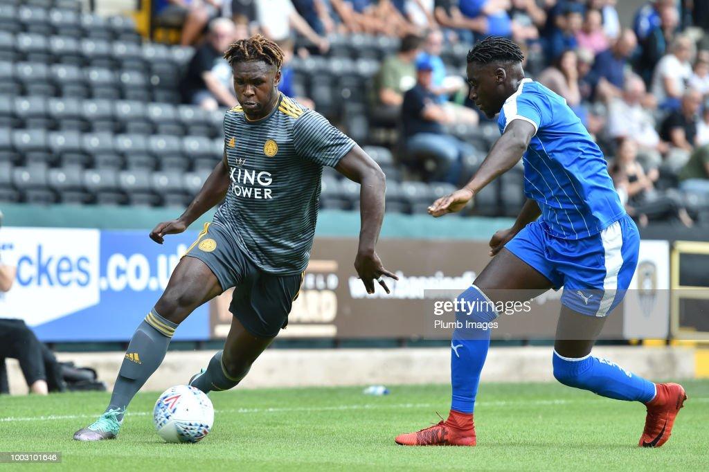 Notts County v Leicester City - Pre-Season Friendly : News Photo