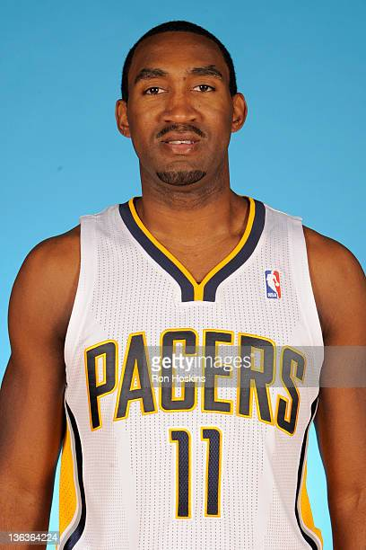 Darnell Lazare of the Indiana Pacers poses for a photo during the media day on December 14 2011 at Conseco Fieldhouse in Indianapolis Indiana NOTE TO...