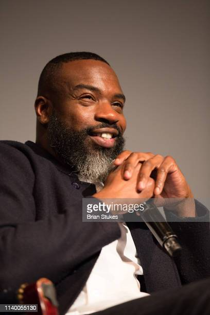 Darnell Moore speaks onstage during me too Conversation About Sexual Violence and Assault at Cramton Auditorium on April 02 2019 in Washington DC