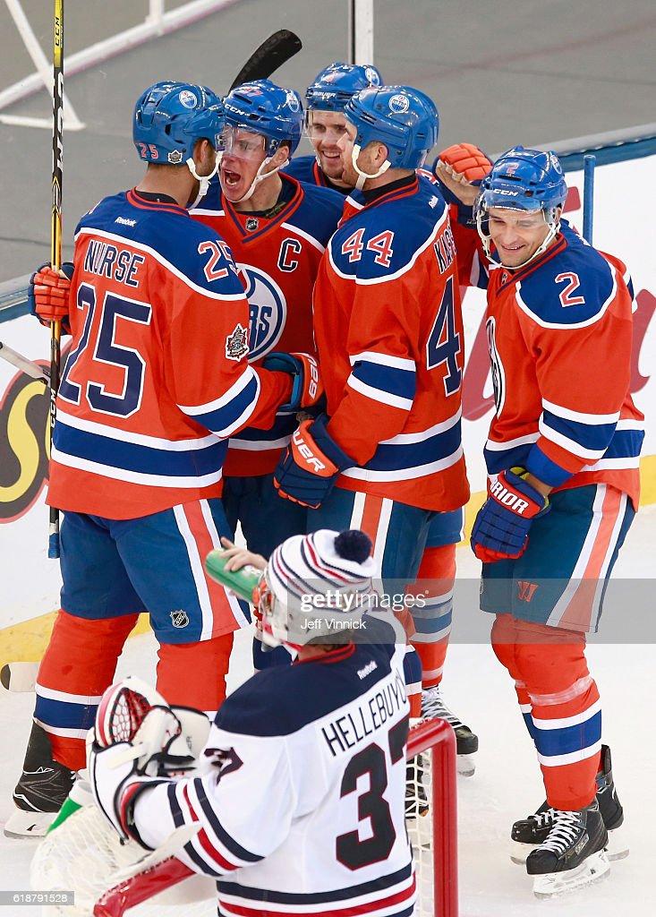 2016 Tim Hortons NHL Heritage Classic - Edmonton Oilers v Winnipeg Jets