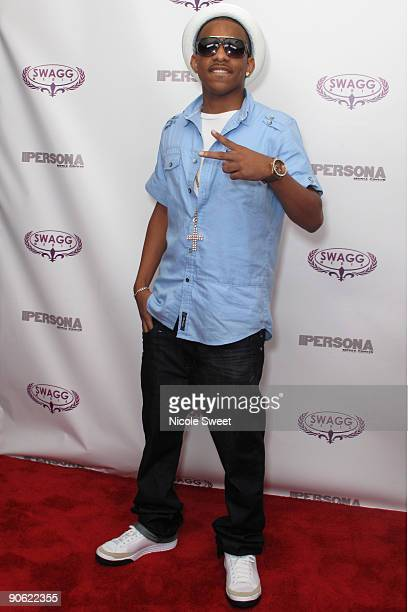 Darnell Robinson attends the Persona magazine launch party at The Griffin on September 11 2009 in New York City