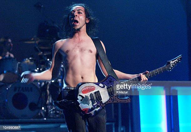 Daron Malakian of System of a Down performs at the MTV Video Music Awards Latinoamerica 2002