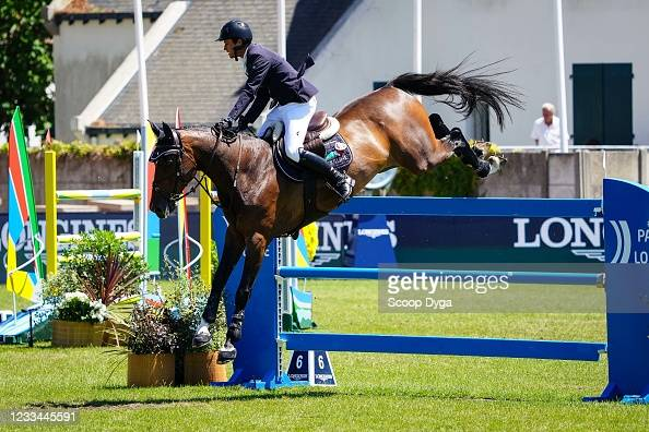 Darragh KENNY of Ireland riding IDALVILLE D'ESPRIT during the... News Photo  - Getty Images
