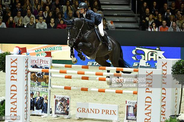 Darragh of Ireland rides Go Easy de Muze during the Grand Prix Longines FEI World Cup by GL Events at in the EQUITA Lyon France Photo by Davide...