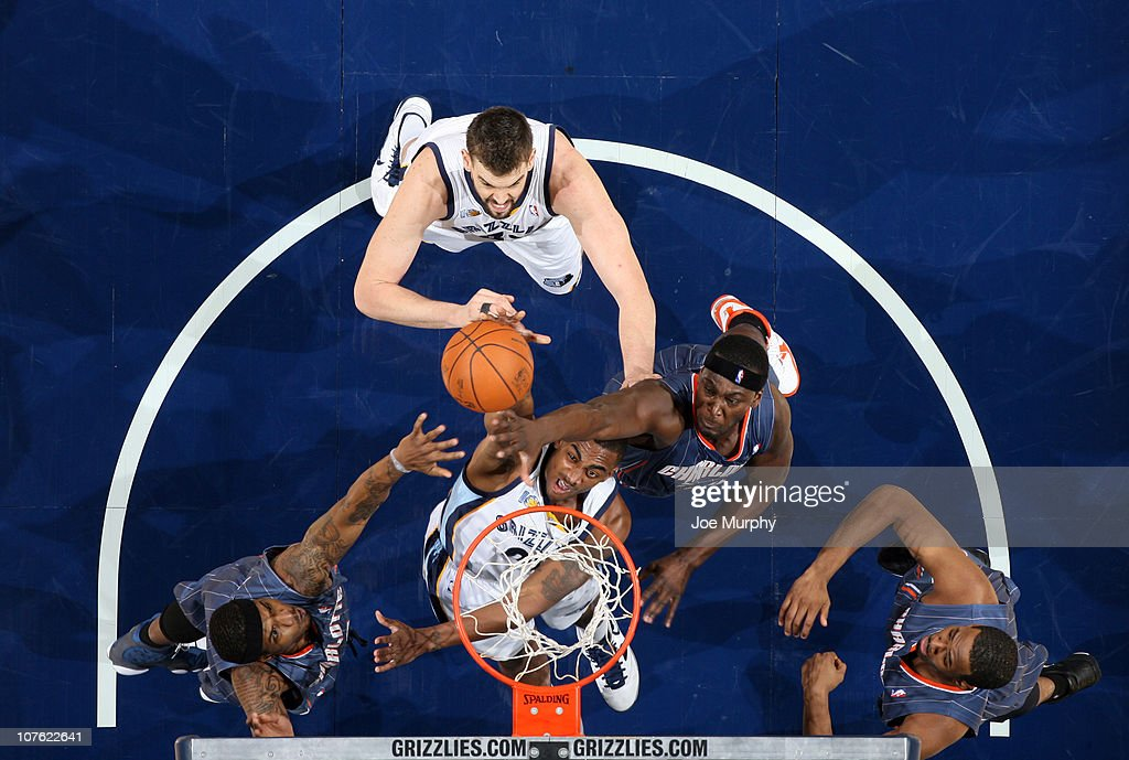 Charlotte Bobcats v Memphis Grizzlies : News Photo