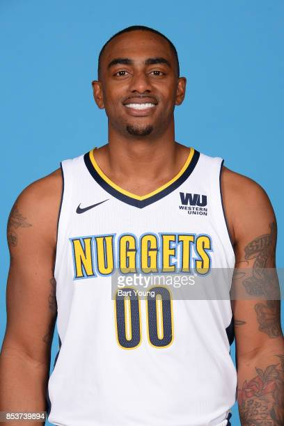 Darrell Arthur of the Denver Nuggets poses for a head shot during Media Day on September 25 2017 at the Pepsi Center in Denver Colorado NOTE TO USER...