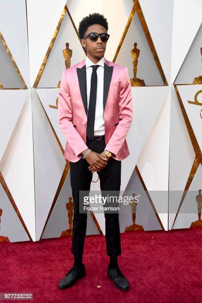 Darrell Britt-Gibson attends the 90th Annual Academy Awards at Hollywood & Highland Center on March 4, 2018 in Hollywood, California.