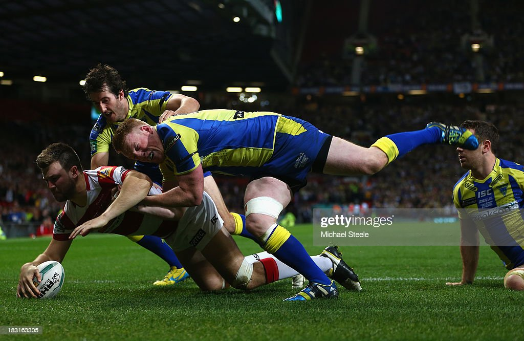 Warrington Wolves v Wigan Warriors - Super League Grand Final