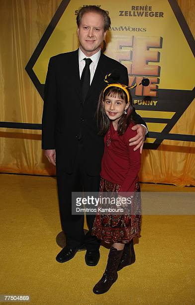 "Darrell Hammond and Mia Hammond arrive at the ""Bee Movie"" New York City Premiere at the AMC Loews Lincoln Square Theater on October 25, 2007 in New..."
