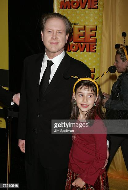 "Darrell Hammond and Mia Hammond arrives at the ""Bee Movie"" New York City Premiere at Loewa Lincoln Square 13 on October 25, 2007 in New York City."