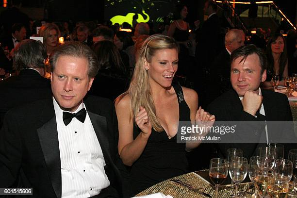 Darrell Hammond Lindsay Shookus and attend The Museum Gala at American Museum of Natural History on November 16 2006 in New York City