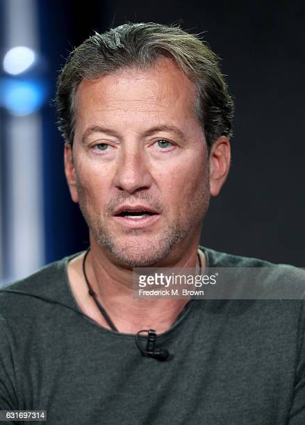Darrell Miklos of the docuseries 'Cooper's Treasure' speaks onstage during the Discovery Channel portion of the 2017 Winter Television Critics...
