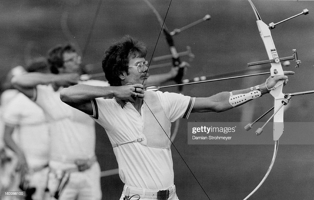 JUN 25 1983, JUN 26 1983; Darrell Pace the world champion and former (1976) Olympic gold medalist is : News Photo