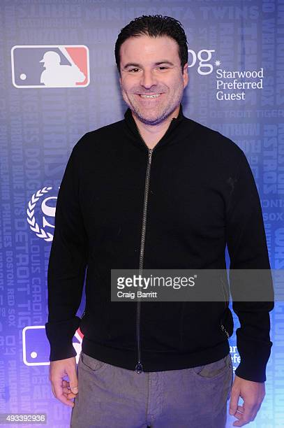 Darrell Rovell sports business analyst ESPN celebrates the launch of Sheraton Hotels Resorts SPG and MLB's New Partnership at a special screening of...