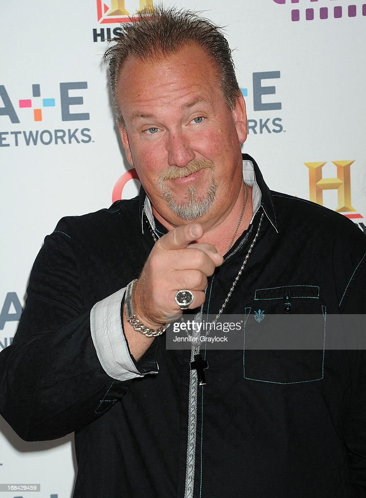 Darrell Sheets attends the A+E Networks 2013 Upfront at Lincoln Center on May 8, 2013 in New York City.