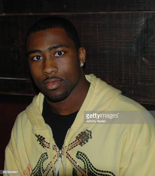 Darrelle Revis hosts a dinner party at La Zarza on December 22, 2008 in New York City.