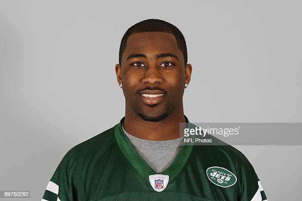 Darrelle Revis of the New York Jets poses for his 2009 NFL headshot at photo day in East Rutherford, New Jersey.