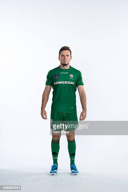 Darren Allinson of London Irish poses for a picture during the BT PhotoShoot at Sunbury Training Ground on August 27 2014 in Sunbury England