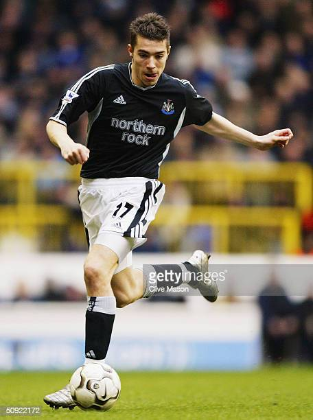 Darren Ambrose of Tottenham Hotspur during the FA Barclaycard Premiership match between Tottenham Hotspur and Newcastle United at White Hart Lane on...