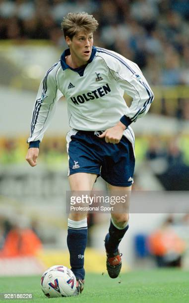 Darren Anderton of Tottenham Hotspur in action during the FA Carling Premiership match between Tottenham Hotspur and Wimbledon at White Hart Lane on...