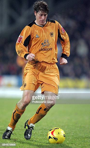 Darren Anderton of Wolverhampton Wanderers in action during the CocaCola Championship match between Crystal Palace and Wolverhampton Wanderers at...