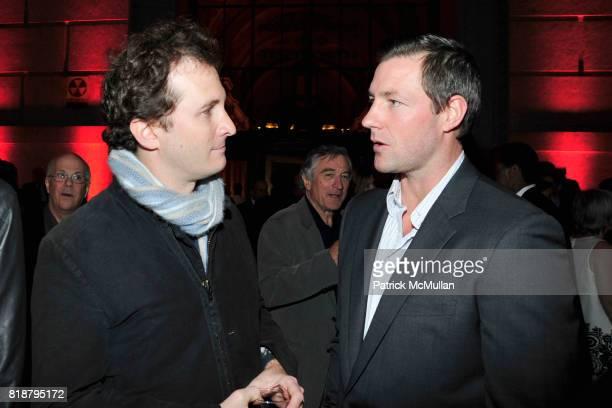 Darren Aronofsky and Edward Burns attend VANITY FAIR TRIBECA FILM FESTIVAL Opening Night Dinner Hosted by ROBERT DE NIRO GRAYDON CARTER and RONALD...