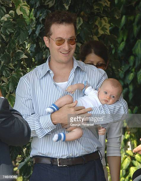 Darren Aronofsky and Henry Chance Aronofsky in Venice, Italy.