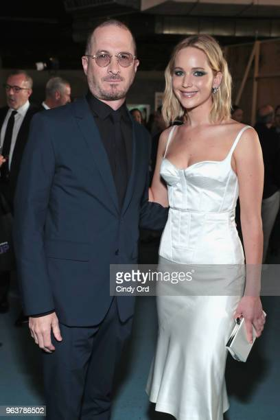 Darren Aronofsky and Jennifer Lawrence attend the BAM Gala 2018 honoring Darren Aronofsky Jeremy Irons and Nora Ann Wallace at Brooklyn Cruise...
