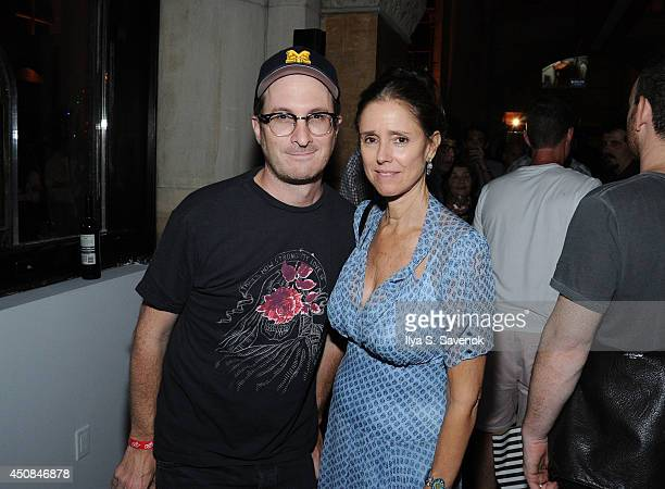 Darren Aronofsky and Julie Taymor attend the Boyhood opening night screening during the 2014 BAMcinemaFest at Skylight One Hanson on June 18 2014 in...