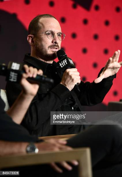 Darren Aronofsky at the 'mother' press conference during the 2017 Toronto International Film Festival held at TIFF Bell Lightbox on September 10 2017...