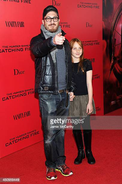 Darren Aronofsky attends a special screening of 'The Hunger Games Catching Fire' on November 20 2013 in New York City