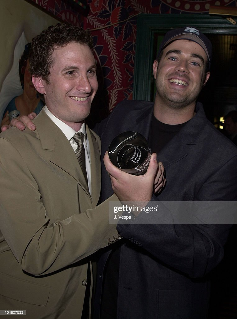 Darren Aronofsky Carson Daly During 3rd Annual Movieline Young