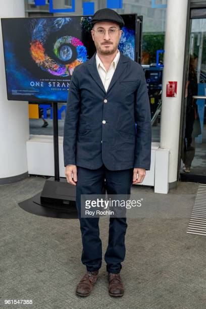 Darren Aronofsky discusses 'The Business' and National Geographic 'One Strange Rock' with the SAGAFTRA Foundation at NYIT Auditorium on Broadway on...