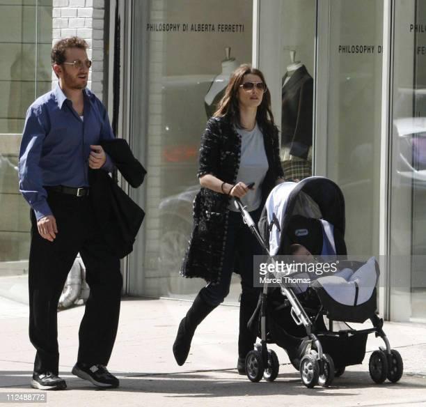 Darren Aronofsky, Rachel Weisz and their son Henry Chance Aronofsky **EXCLUSIVE**