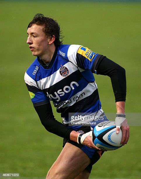 Darren Atkins of Bath during the Premiership Rugby/RFU U18 Academy Finals Day match between Leicester and Bath at The Allianz Park on February 16...