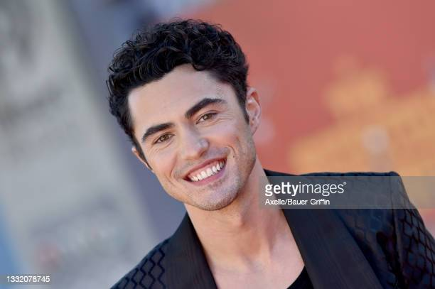"""Darren Barnet attends Warner Bros. Premiere of """"The Suicide Squad"""" at The Landmark Westwood on August 02, 2021 in Los Angeles, California."""