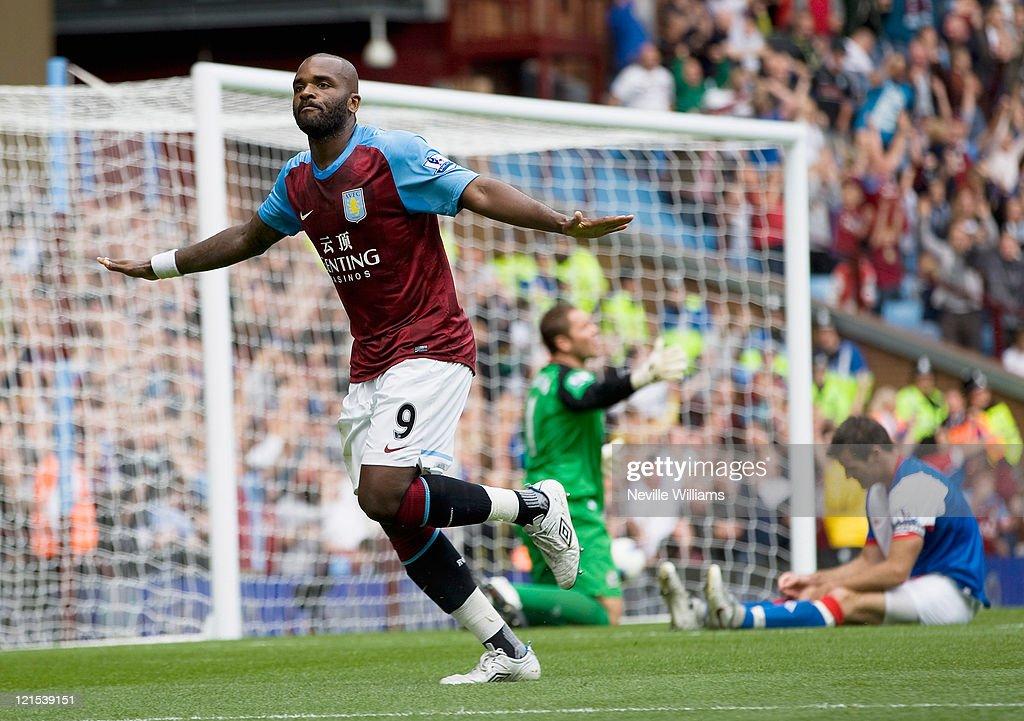Aston Villa v Blackburn Rovers - Premier League : Nachrichtenfoto
