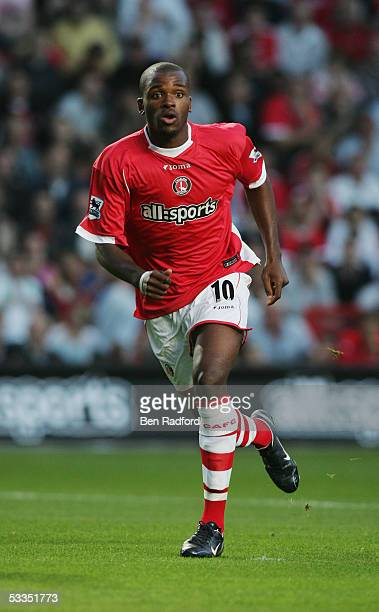 Darren Bent of Charlton Athletic in action during the friendly match between Charlton Athletic and Feyenoord at held at The Valley on August 3 2005...
