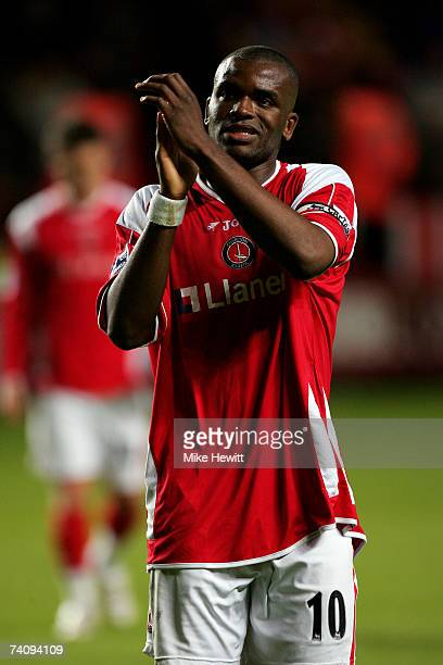 Darren Bent of Charlton Athletic look dejected after losing the Barclays Premiership match between Charlton Athletic and Tottenham Hotspur at The...
