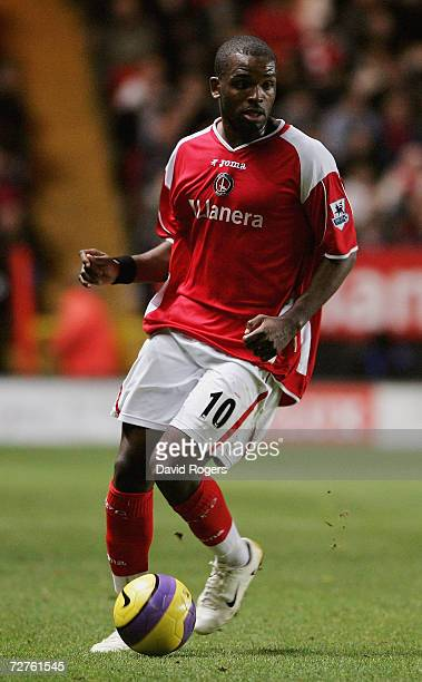 Darren Bent of Charlton Athletic pictured during the Barclays Premiership match between Charlton Athletic and Blackburn Rovers at The Valley on...